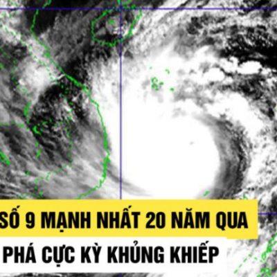 tin bão số 9 mới nhất