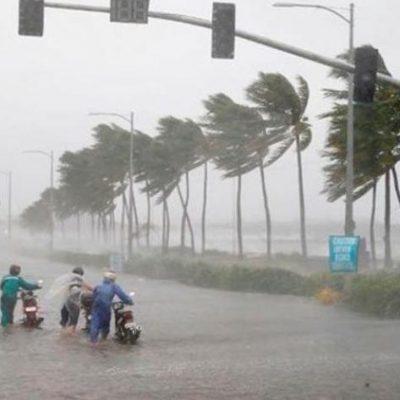 tình hình bão miền trung